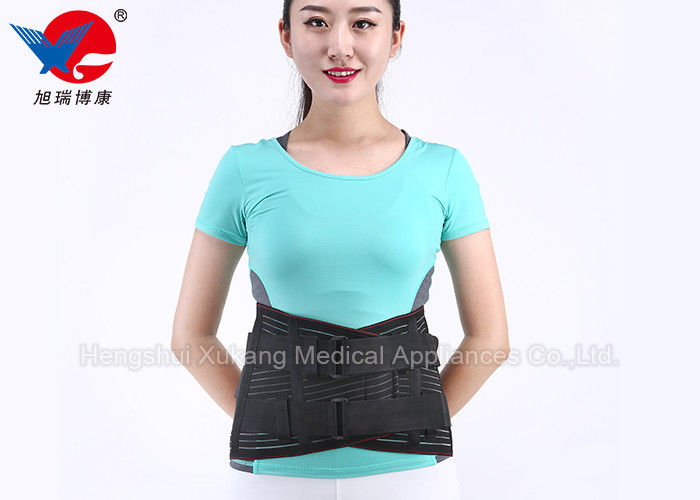 Outdoor Ventilated Waist Support Brace , Athletic Back Brace Promote Metabolism
