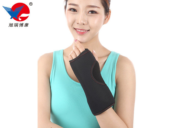 Soft Sleep Neoprene Wrist Support Brace , Free Size Elastic Wrist Support Band