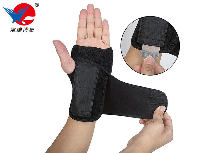 Lightweight Neoprene Wrist Support Brace , Left Hand Wrist Splint For Men / Women
