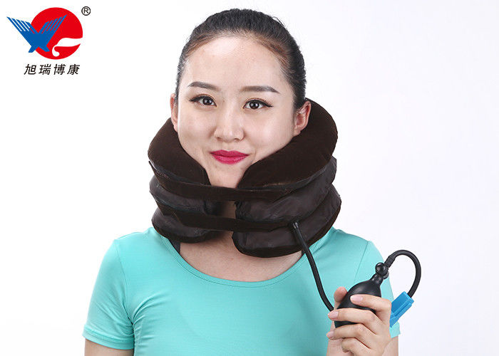 Easy To Wear Inflatable Air Pump Traction Neck Brace Cervical Traction Device